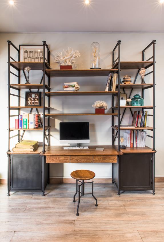 bureau biblioth que au petit parisien au petit parisien. Black Bedroom Furniture Sets. Home Design Ideas