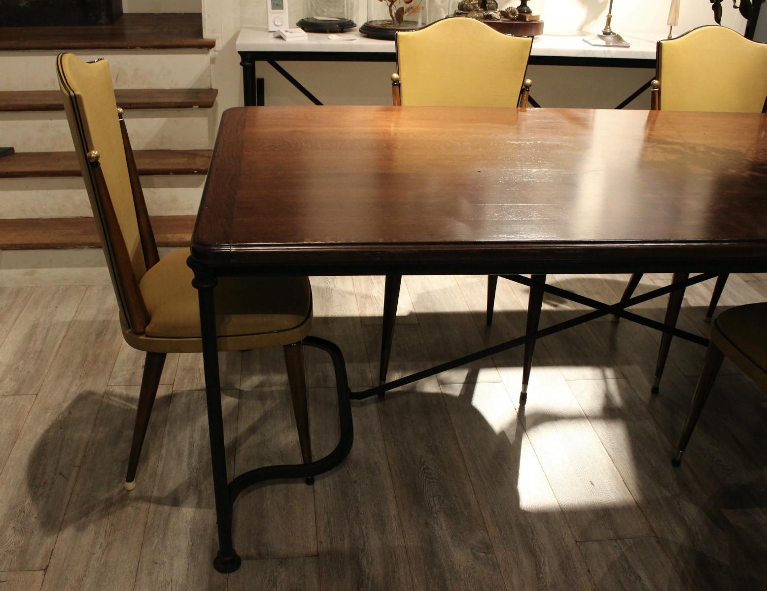table de salle manger sur mesure au petit parisien
